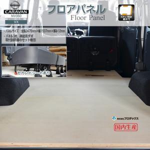 NV350 キャラバン VX 標準ボディ フロアパネル【ミドルサイズ】 5ドア5人乗りセカンドシートあり 床 床キット|avanzar-luxstyle