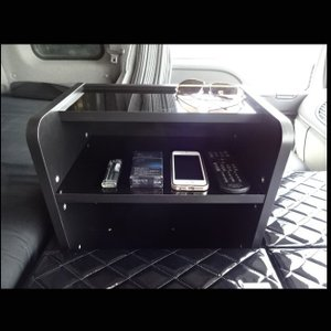 いすゞ (オプション) ギガ 棚 ラック コンソール テーブル 棚板 収納 内装 トラック センター フロント サイド|avanzar-luxstyle