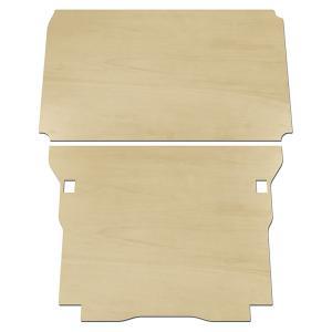 ホンダ バン N-VAN エヌバン Nバン フロアパネル 収納 内装 板 板パネル 床パネル 床板 荷室 荷台 荷室板 床貼り 床張り フロア パネル トランポ フロアキット|avanzar-luxstyle