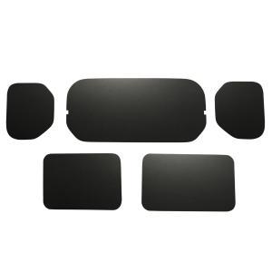 ホンダ バン N-VAN エヌバン Nバン ウィンドウパネル ウィンドパネル ウインドウパネル ウインドパネル パネル カーフィルム 窓 光防止 収納 内装|avanzar-luxstyle
