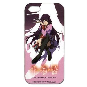 化物語 戦場ヶ原 ひたぎ iPhone5/5S用ケース グッズ 北米版