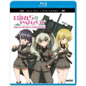 ガールズ&パンツァー これが本当のアンツィオ戦です! OVA版 BD+DVD 38分収録 北米版