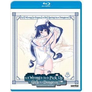 ダンジョンに温泉を求めるのは間違っているだろうか OVA版 BD 25分収録 北米版
