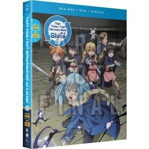 転生したらスライムだった件 第1期 2 BD+DVD 13-24話 300分収録 北米版