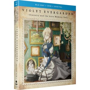 ヴァイオレット・エヴァーガーデン 外伝 永遠と自動手記人形 現状版 BD+DVD 93分収録 北米版