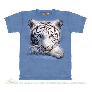 The Mountain Resting Tiger (メンズ トラ ホワイトタイガー メーカー直輸入品 Tシャツ)|avees