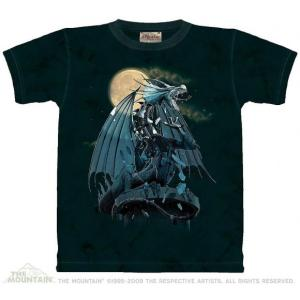 The Mountain Awakening (メンズ ファンタジー ドラゴン メーカー直輸入品 Tシャツ)|avees