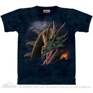The Mountain The Crusade (メンズ ファンタジー ドラゴン メーカー直輸入品 Tシャツ)|avees