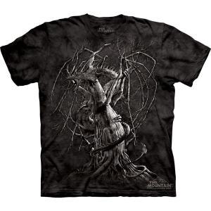 Tシャツ The Mountain: Dragon's Fall (メンズ ドラゴン )|avees