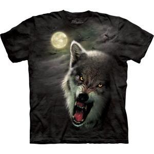 The Mountain Night Breed (メンズ オオカミ メーカー直輸入品 Tシャツ)|avees