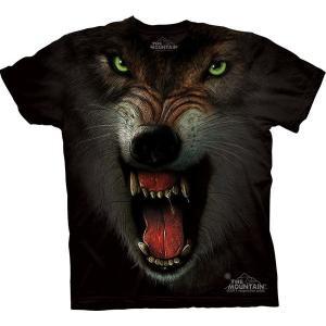 Tシャツ GRRRRRR (メンズ オオカミ )|avees