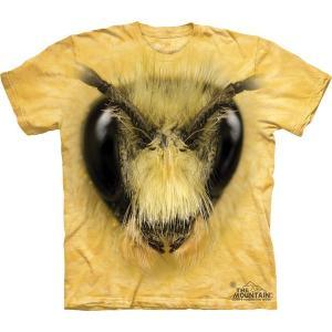 The Mountain Bee Head (メンズ ハチ メーカー直輸入品 Tシャツ)|avees