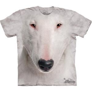 The Mountain Bull Terrier Face (メンズ イヌ テリア メーカー直輸入品 Tシャツ)|avees
