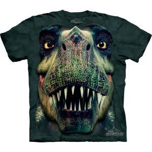 The Mountain Rex Portrait (メンズ 恐竜 ティラノサウルス メーカー直輸入品 Tシャツ)|avees