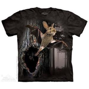 The Mountain Rabbat (メンズ ミックス ウサギ コウモリ メーカー直輸入品 Tシャツ)|avees