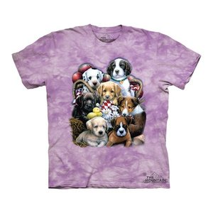 The Mountain Puppy Pals (キッズ イヌ 子犬 メーカー直輸入品 Tシャツ)|avees