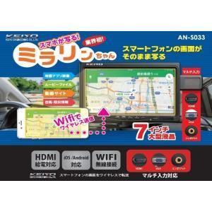 KEIYO/慶洋エンジニアリング ミラリンちゃん 7インチ液晶 AN-S033|avekt