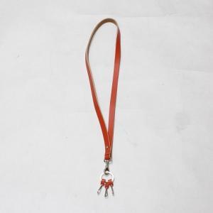 【Hender Scheme エンダースキーマー】 neck strap 《ORANGE》