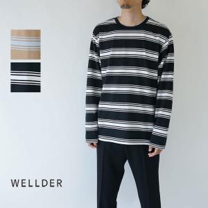 WELLDER  / ウェルダー / 2019AW / ロンT / REGULAR FIT LONG...