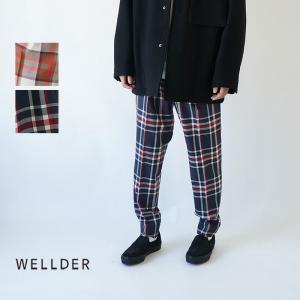 WELLDER  / ウェルダー / 2019AW / トラウザーズ / ONE TUCK TAPE...