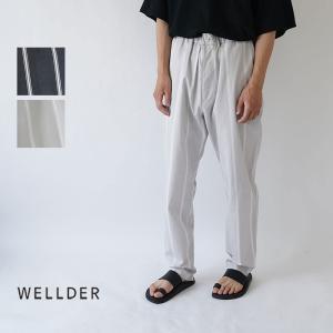 WELLDER  / ウェルダー / 2019AW / パンツ / DRAWSTRING EASY ...
