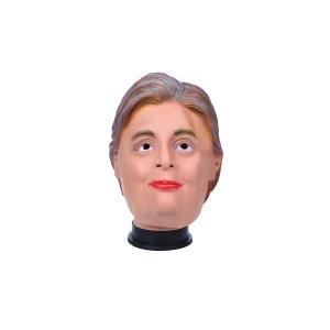 送料無料 Mrs.クリントン そっくりコスプレ 被り物 マスク 忘年会 出し物 パーティ|avenir7