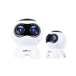 送料無料 USB ロボットスピーカー LEDライト付き 高音質HiFiスピーカー  PC|avenir7