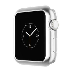 SALE&送料無料 38mm 42mm Silver Apple Watch Series 2専用ケース メッキ加工 弧状設計 脱着簡単耐衝撃 アップルウォッチ2カバー SAC-030c|avenir7