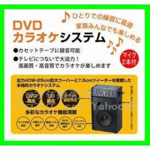 DVDカラオケシステム(DVD-K100M2/マイク2本付/送料無料)