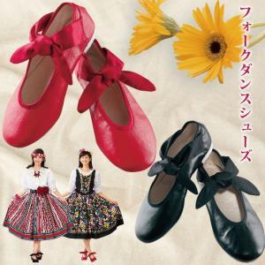 フォークダンスシューズ レッスン靴 室内履き  GD188-2709 レクダンス レクリエーションダンス avivare
