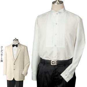 メンズドレスシャツ フォーマルシャツ 白シャツ ウィングカラー ステージ 正装 JP-MES001-3163 メンズ 結婚式|avivare