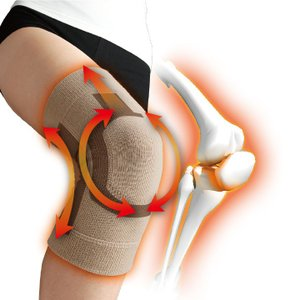 Dr.PRO ドクタープロ ひざサポーター Z0006  ひざの痛み 関節 歩行サポート テーピング 膝サポーター 保温 抗菌