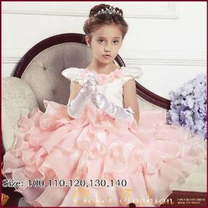 子供 ドレス 子供ドレス 子どもドレス キッズドレス キッズ 結婚式  パーティードレス パーティドレス 発表会 お姫様 プリンセス 子供フォーマルドレス 送料無料|avivi