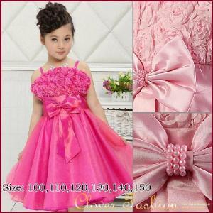 こども ワンピース 子供服 フォーマル キッズ ドレス 100 110 120 130 140 150 ブルー ピンク ローズ  送料無料|avivi