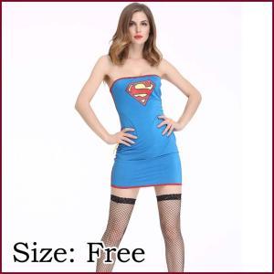 スーパーガール 衣装 ハロウィン スーパーウーマン コスチューム スーパーマン コスプレ ハロウィン セクシー 大人用 ハロウィン衣装 女性用 仮装 通販|avivi