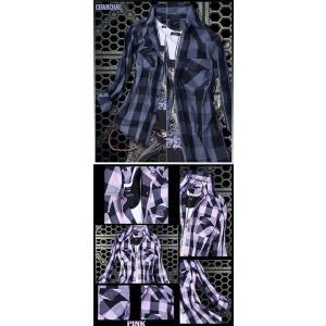 半袖シャツ メンズ 長袖シャツ チェックシャツ メンズ チェック 3カラー チェック シャツ トップス|avril|03