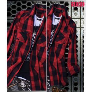 半袖シャツ メンズ 長袖シャツ チェックシャツ メンズ チェック 3カラー チェック シャツ トップス|avril|05