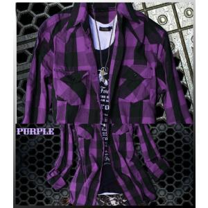 半袖シャツ メンズ 長袖シャツ チェックシャツ メンズ チェック 3カラー チェック シャツ トップス|avril|06