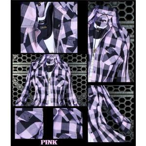 半袖シャツ メンズ 長袖シャツ チェックシャツ メンズ チェック 3カラー チェック シャツ トップス|avril|08