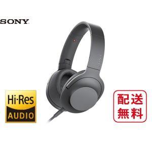 ソニー ステレオヘッドホン MDR-H600A (B)グレイッシュブラック avshopaoba