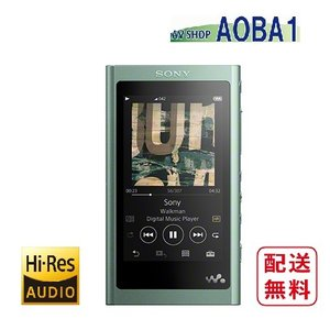 ソニー ウォークマン A50シリーズ NW-A55 (G) ホライズングリーン 16GB ハイレゾ音源対応 avshopaoba