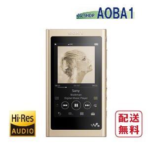 ソニー ウォークマン A50シリーズ NW-A55 (N) ペールゴールド 16GB ハイレゾ音源対応 avshopaoba