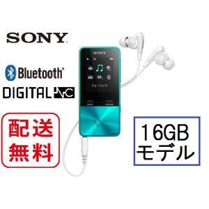 ソニー ウォークマン 本体 NW-S315 (L) ブルー色 Sシリーズ 16GBモデル  avshopaoba