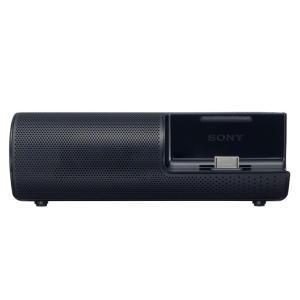 ソニー ウォークマン用ポータブルドックスピーカー RDP-NWT19 (B)ブラック色