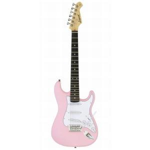 LEGEND EG ミニギター 580mmスケール LST-MINI KWPK カワイイピンク スト...