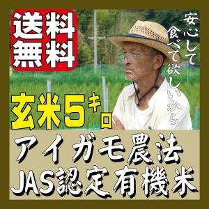 ◆27年産 オーガニック有機米 アイガモ農法 笹田さんの愛鴨米 淡路島 玄米5キロ【送料無料】|awaji-gift