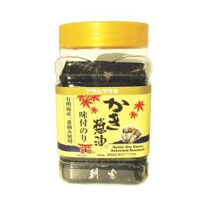 味付のり かき醤油 8切60枚 有明海産一番摘み使用 3個|awaji-gourmet
