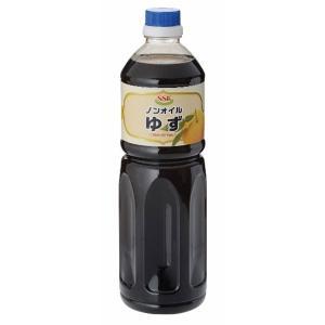送料無料 SSK ノンオイルゆず 1000ml 8本 1ケース|awaji-gourmet