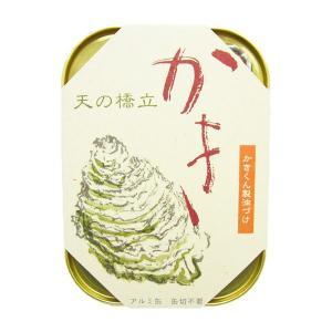 竹中缶詰 丹後 海の幸三昧 かき かきくん製油づけ 缶詰め 105g 25個入 1箱|awaji-gourmet