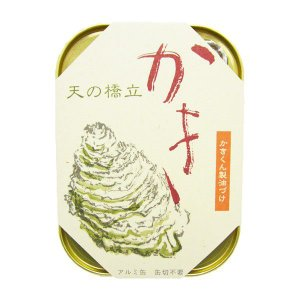 竹中缶詰 丹後 海の幸三昧 かき かきくん製油づけ 缶詰め 105g 10個|awaji-gourmet